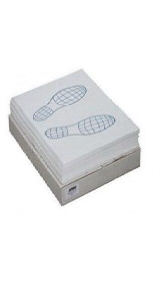 Коврик бумажный «следы ног» 40*50