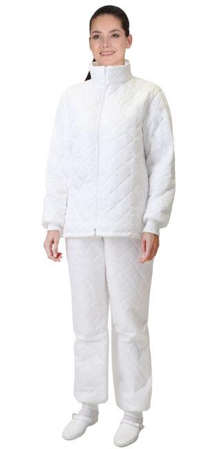"""Куртка """"СИРИУС-МИШЛЕН"""" универсальная белая"""
