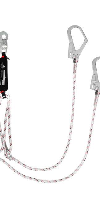 Строп VENTO веревочный двойной регулируемый с амортизатором, vnt aB22p